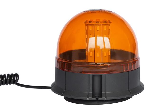 Lampa błyskowa ostrzegawcza SMD LED kogut magnes 190L