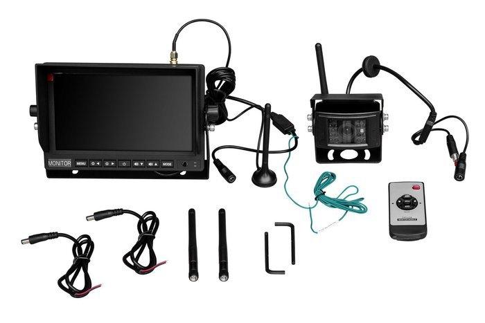Zestaw bezprzewodowy monitor LCD 7' 1 kamera